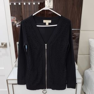 Michael Kors Lace Sweater Cardigan Size S
